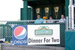 Another new edition to Taunton Stadium, the Green MIll DInner for Two Suite