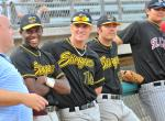 The 2010 Stingers All Star members.  Isaac Ballou, Jordan Smith, and Charley Olson.